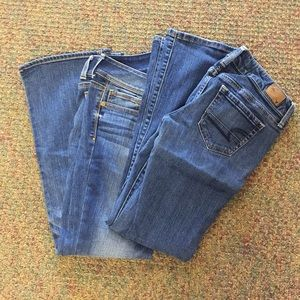 BUNDLE! 2 pairs of American Eagle jeans size 6!
